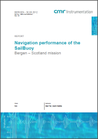 Navigation performance of the SailBuoy