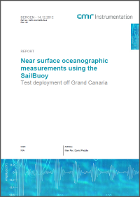 Near surface oceanographic measurements using the SailBuoy